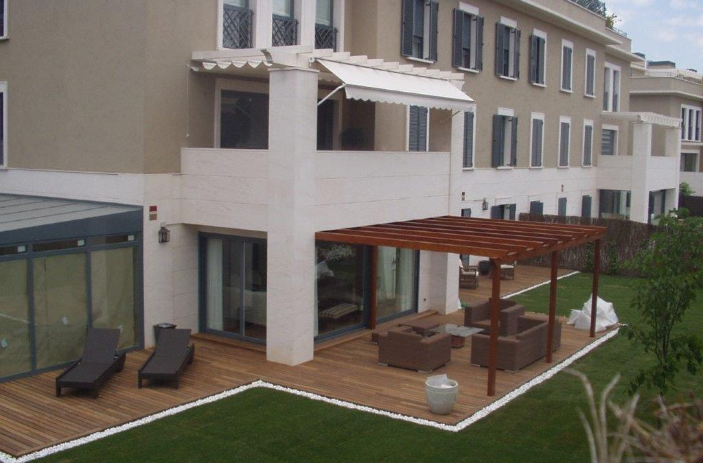 Ampliación de terraza