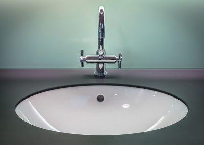 Reforma de baño, azulejos de cristal